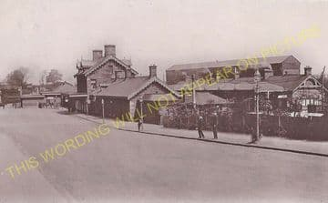 Dumfries Railway Station Photo. Glasgow & South Western Railway (9)