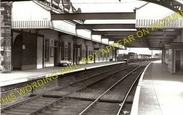 Dunbar Railway Station Photo. Innerwick - East Linton. North British Railway (1).