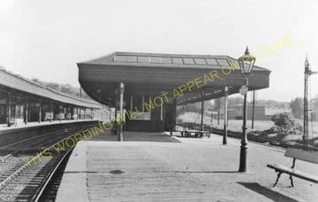 Dunfermline Lower Railway Station Photo. Halbeath - Rosyth and Cairneyhill. (3)