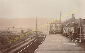 Dunstable Town Railway Station Photo. Luton Line. Great Northern Railway (7)