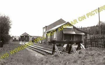 Dyserth Railway Station Photo. Meliden, Rhuddlan Road and Rhyl Line. (1)..