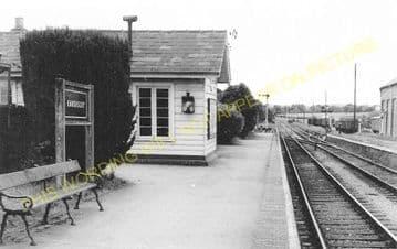 Eardisley Railway Station Photo. Whitney to Almeley and Kinnersley Lines. (3)