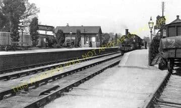 Eardisley Railway Station Photo. Whitney to Almeley and Kinnersley Lines. (5)