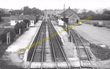 Eardisley Railway Station Photo. Whitney to Almeley and Kinnersley Lines. (6)