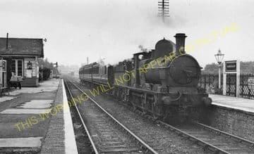 Eardisley Railway Station Photo. Whitney to Almeley and Kinnersley Lines. (7)