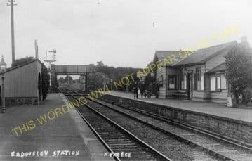 Eardisley Railway Station Photo. Whitney to Almeley and Kinnersley Lines. (8)