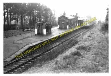 East Leake Railway Station Photo. Loughborough - Rushcliffe. Nottingham Line (6)