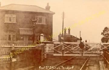 East Street Railway Station Photo. West Bay - Bridport. Powerstock Line. (13)