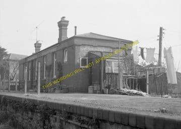 East Street Railway Station Photo. West Bay - Bridport. Powerstock Line. (2)