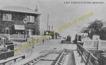 East Street Railway Station Photo. West Bay - Bridport. Powerstock Line. (4)
