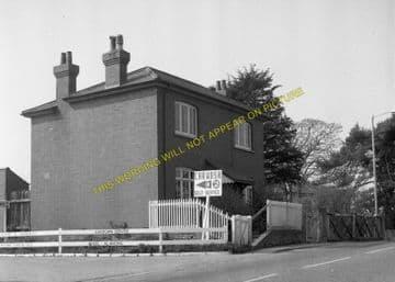 East Street Railway Station Photo. West Bay - Bridport. Powerstock Line. (5)