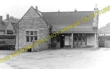 Easton Railway Station Photo. Portland and Weymouth Line. GWR & LSWR. (1)..