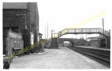 Ecclefechan Railway Station Photo. Kirtlebridge - Lockerbie. Caledonian Rly. (2).