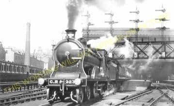 Edinburgh Princes Street Railway Station Photo. Caledonian Railway. (5)