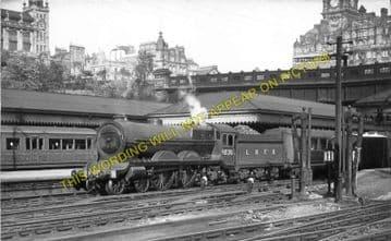 Edinburgh Waverley Railway Station Photo. North British Railway (10)..