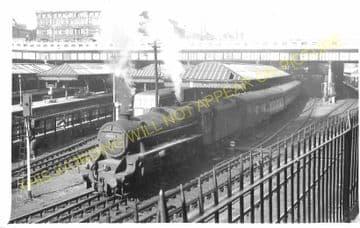 Edinburgh Waverley Railway Station Photo. North British Railway (13)