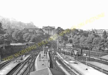 Edinburgh Waverley Railway Station Photo. North British Railway (19)