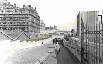 Edinburgh Waverley Railway Station Photo. North British Railway (24)