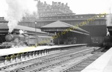 Edinburgh Waverley Railway Station Photo. North British Railway (5)
