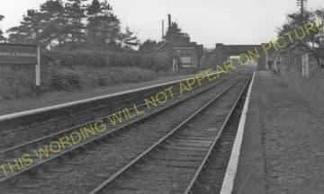 Edmondthorpe & Wymondham Railway Station Photo. Saxby - South Witham. (5)