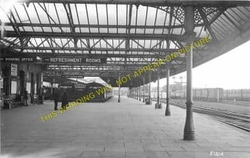 Elgin East Railway Station Photo. Lossiemouth and Calcots Line. GNSR. (1)
