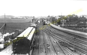 Elgin West Railway Station Photo. Mosstowie - Lhanbryde. Alves to Keith Line (2)