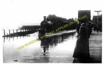 Elgin West Railway Station Photo. Mosstowie - Lhanbryde. Alves to Keith Line (8)