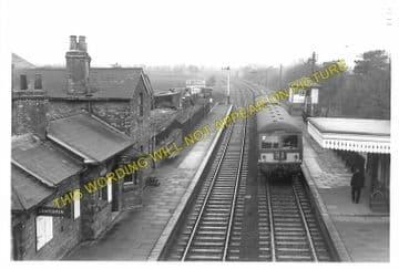 Elmesthorpe Railway Station Photo. Hinckley - Croft. Nuneaton to Narborough. (2)