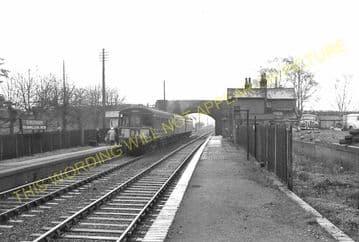Elmesthorpe Railway Station Photo. Hinckley - Croft. Nuneaton to Narborough. (5)