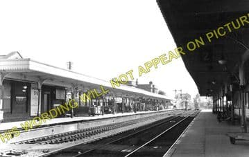 Ely Railway Station Photo. Waterbeach - Littleport. Cambridge to Kings Lynn. (2)