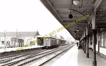 Ely Railway Station Photo. Waterbeach - Littleport. Cambridge to Kings Lynn. (5)