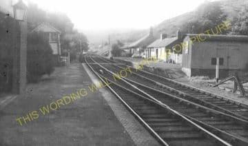 Erwood Railway Station Photo. Boughrood - Aberedw. Three Cocks Jct to Builth (9).