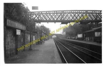 Eskbank & Dalkeith Railway Station Photo. Millerhill - Broomieknowe. (2)