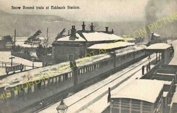 Eskbank & Dalkeith Railway Station Photo. Millerhill - Broomieknowe. (6).
