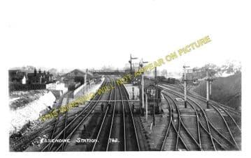 Essendine Railway Station Photo. Tallington - Little Bytham. (1)..