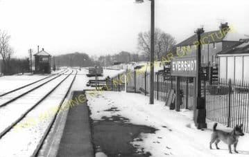 Evershot Railway Station Photo. Maiden Newton - Yetminster. Yeovil Line. (11)