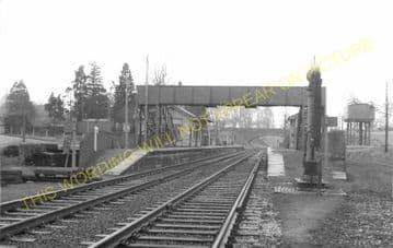 Evershot Railway Station Photo. Maiden Newton - Yetminster. Yeovil Line. (12)
