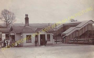Evershot Railway Station Photo. Maiden Newton - Yetminster. Yeovil Line. (14)