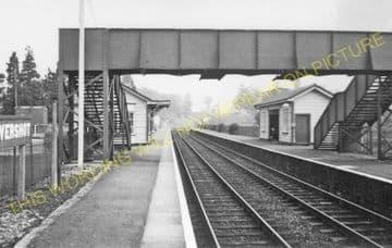 Evershot Railway Station Photo. Maiden Newton - Yetminster. Yeovil Line. (15)