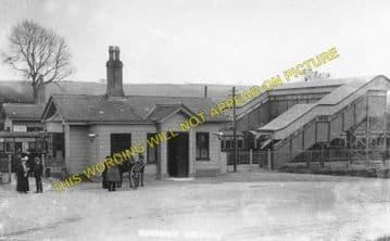 Evershot Railway Station Photo. Maiden Newton - Yetminster. Yeovil Line. (3)