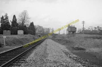 Evershot Railway Station Photo. Maiden Newton - Yetminster. Yeovil Line. (4)