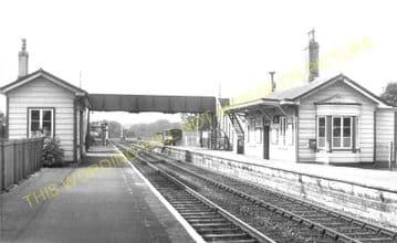Evershot Railway Station Photo. Maiden Newton - Yetminster. Yeovil Line. (5)