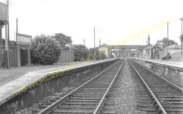 Evershot Railway Station Photo. Maiden Newton - Yetminster. Yeovil Line. (8)