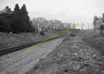 Evershot Railway Station Photo. Maiden Newton - Yetminster. Yeovil Line. (9)