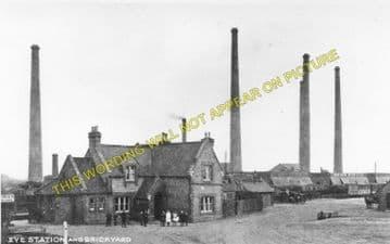 Eye Green Railway Station Photo. Peterborough - Thorney. Wisbech Line. M&GNR (3)