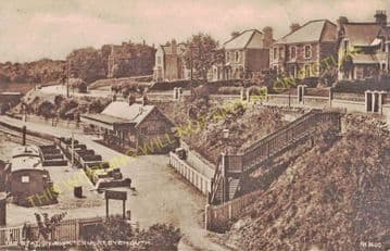 Eyemouth Railway Station Photo. Burnmouth and Berwick-on-Tweed Line. NBR. (7)