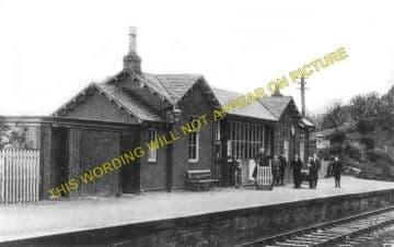 Fairlie High Railway Station Photo. Largs - West Kilbride. Ardrossan Line. (1)