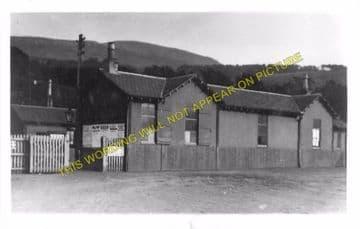 Fairlie High Railway Station Photo. Largs - West Kilbride. Ardrossan Line. (2)