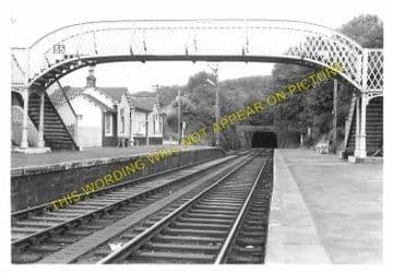 Fairlie High Railway Station Photo. Largs - West Kilbride. Ardrossan Line. (3).