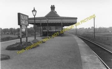 Falkirk Camelon Railway Station Photo. Larbert - Polmont. Manuel Line. (1)..